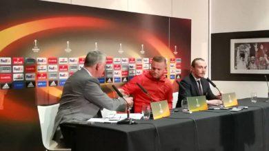 Wayne Rooney lehdistötilaisuudessa 2017 (c) Jere Virtanen